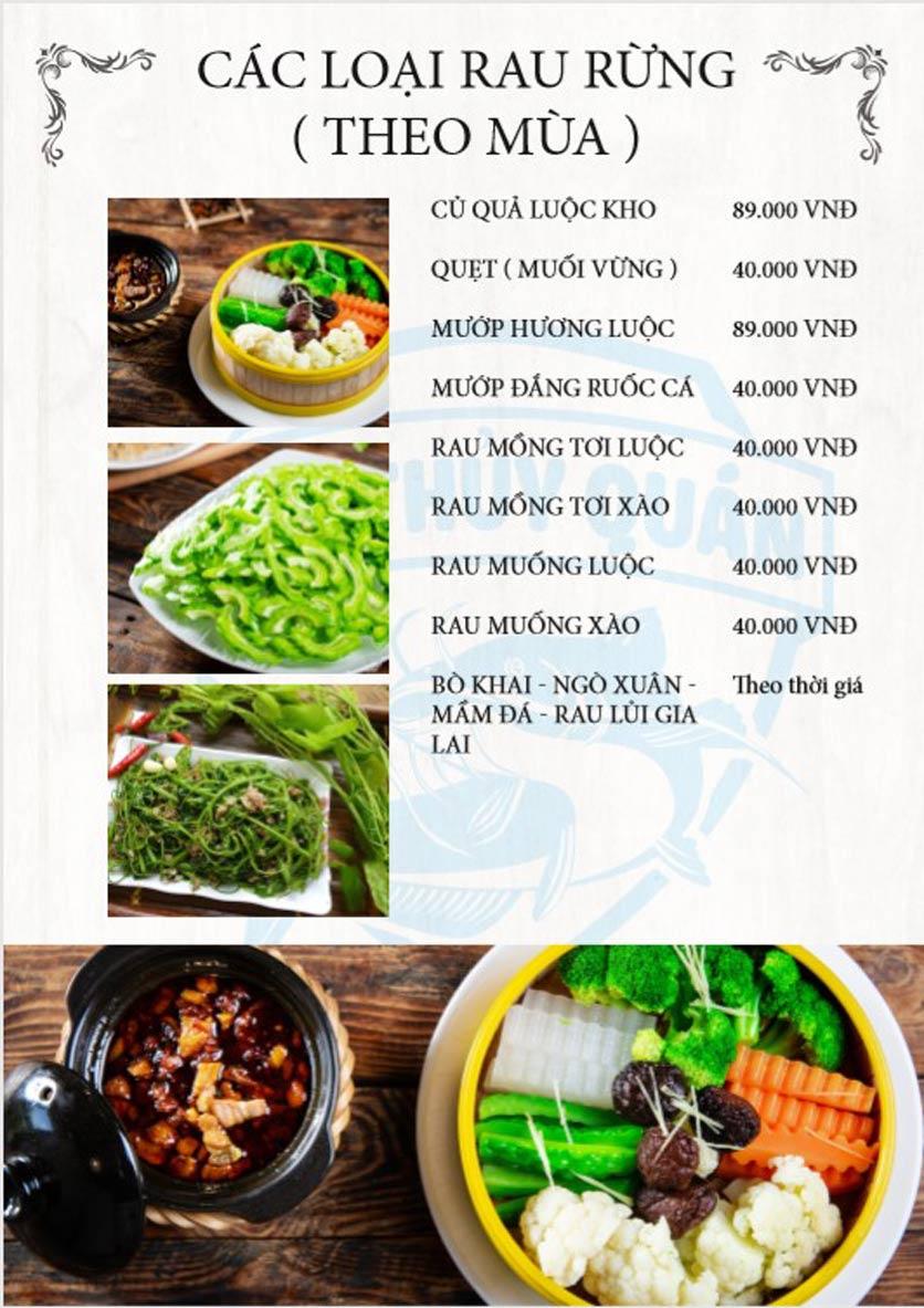 Menu Kim Thủy Quán - Ngô Xuân Quảng     3