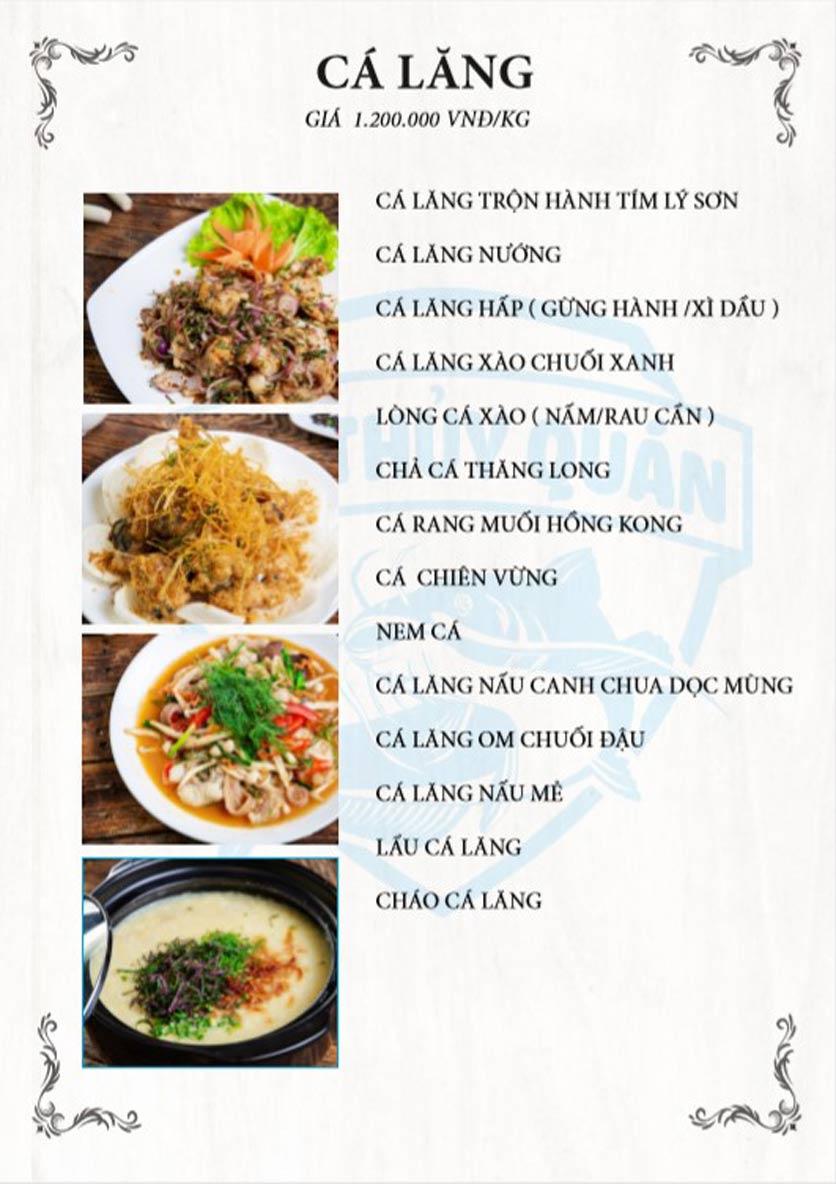 Menu Kim Thủy Quán - Ngô Xuân Quảng     5
