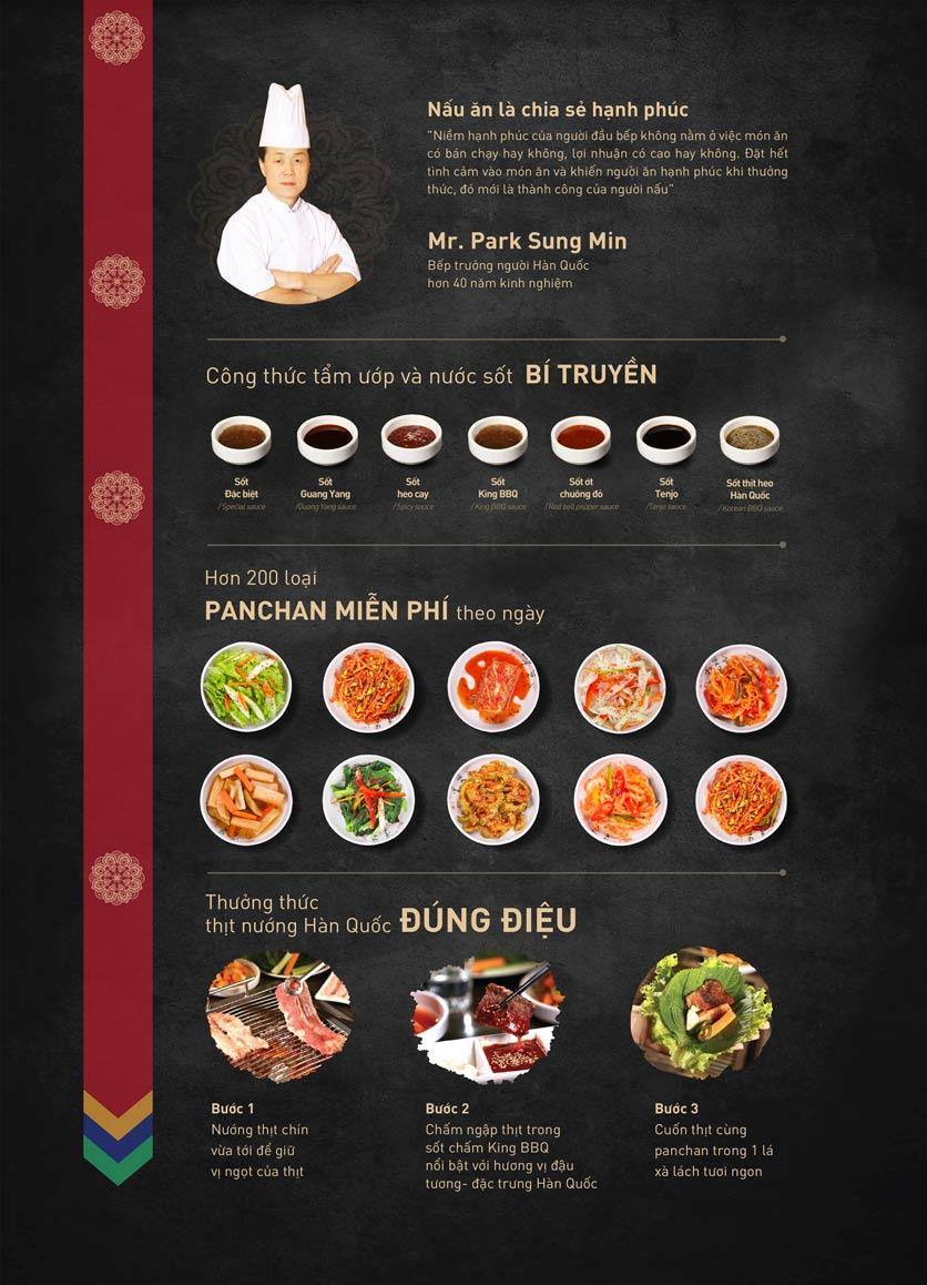 Menu King BBQ Buffet - Aeon Mall Hà Đông 1