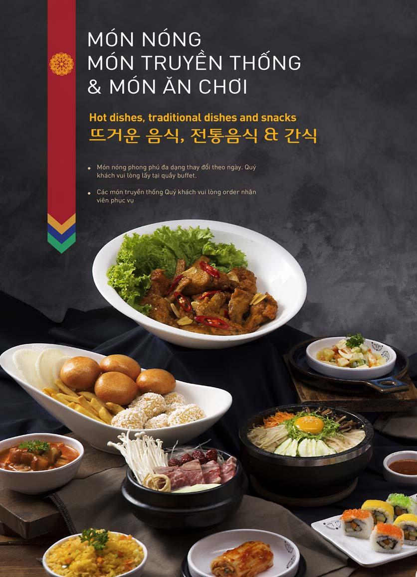 Menu King BBQ Buffet - Aeon Mall Hà Đông 11