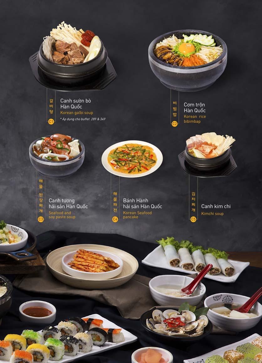 Menu King BBQ Buffet - Aeon Mall Hà Đông 12