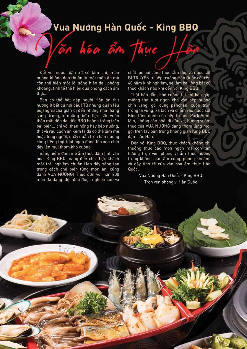 Menu King BBQ Buffet - Nguyễn Văn Quá  3