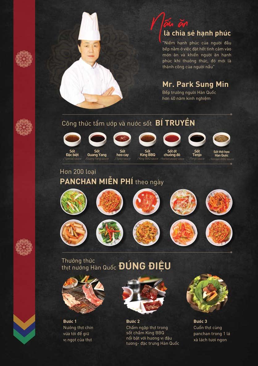 Menu King BBQ Buffet - Nguyễn Văn Quá  4