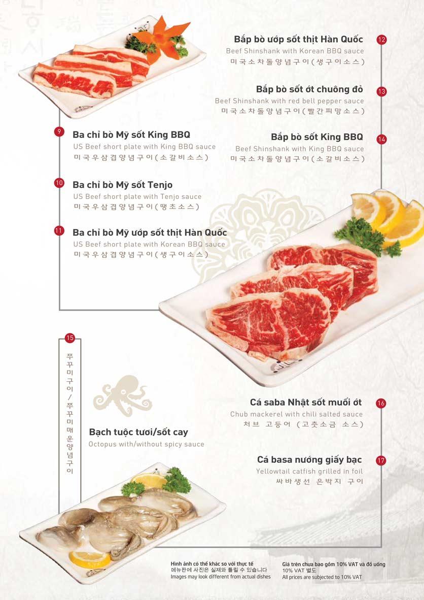 Menu King BBQ Buffet - Nguyễn Văn Quá  7