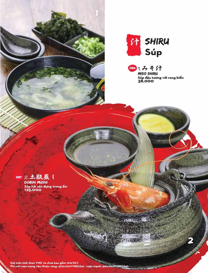 Menu Kisu Sushi – Trần Quốc Toản 1