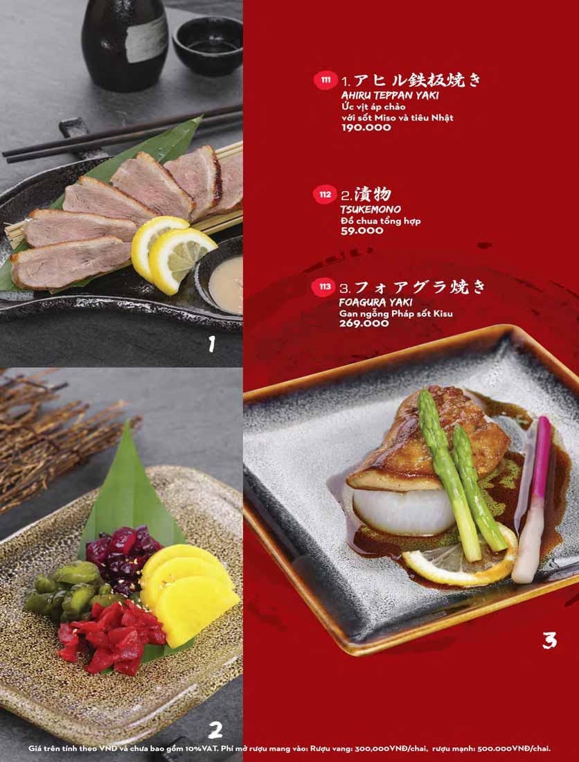 Menu Kisu Sushi – Trần Quốc Toản 10