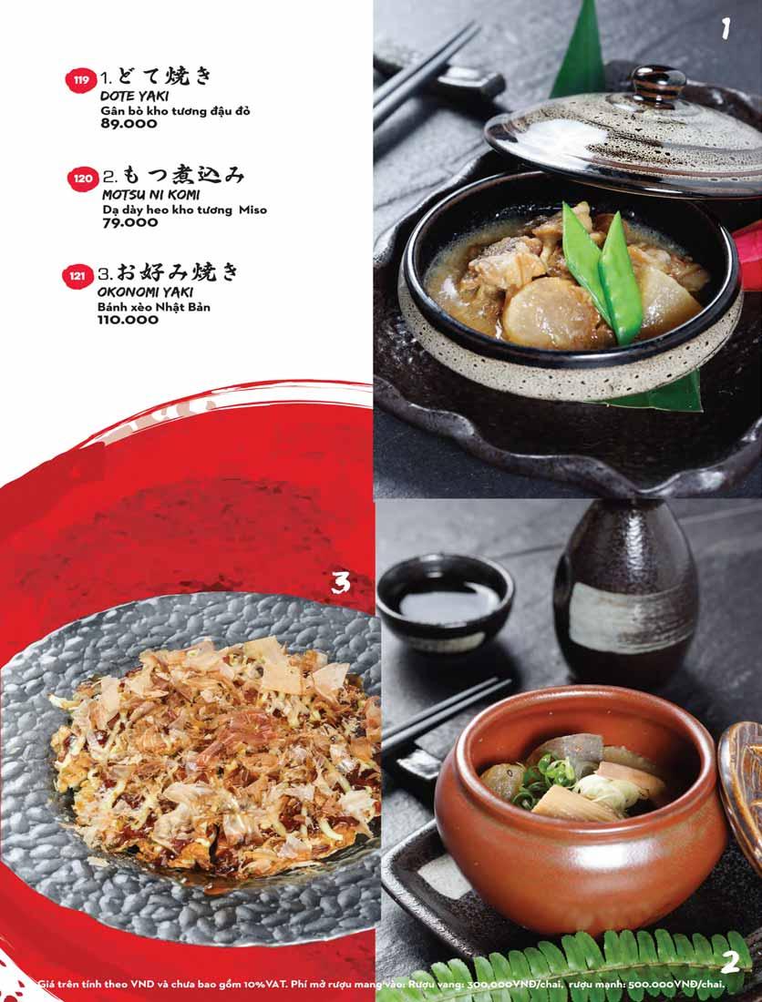Menu Kisu Sushi – Trần Quốc Toản 13