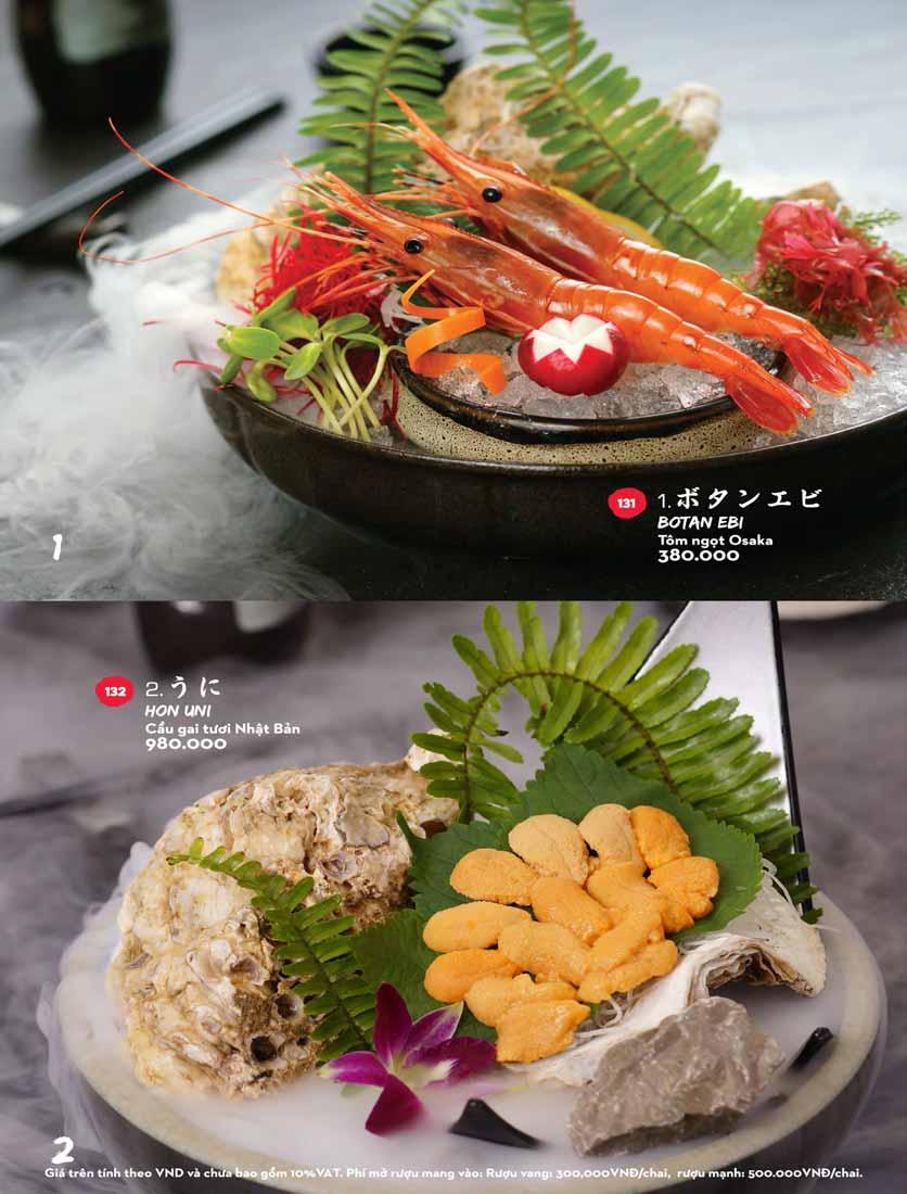Menu Kisu Sushi – Trần Quốc Toản 16