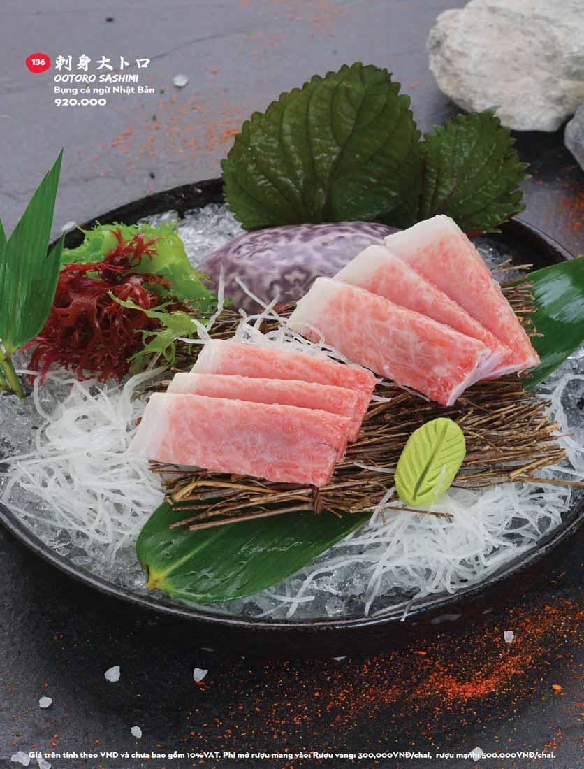 Menu Kisu Sushi – Trần Quốc Toản 18