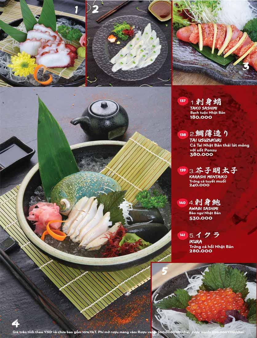 Menu Kisu Sushi – Trần Quốc Toản 19