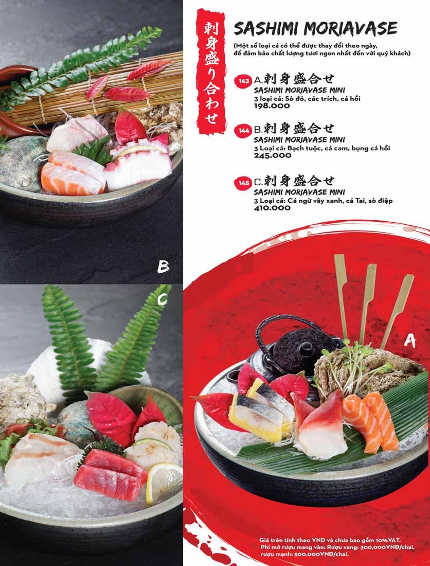 Menu Kisu Sushi – Trần Quốc Toản 21