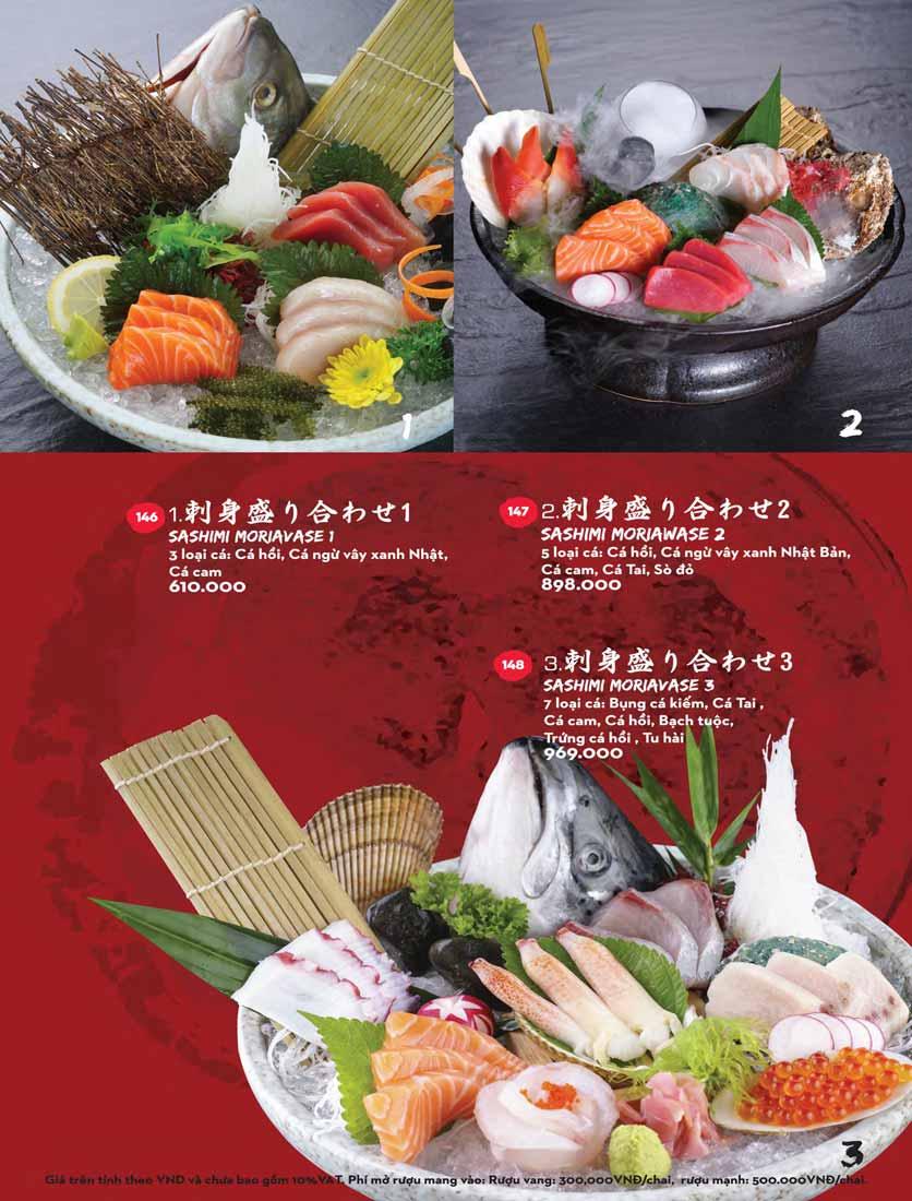 Menu Kisu Sushi – Trần Quốc Toản 22