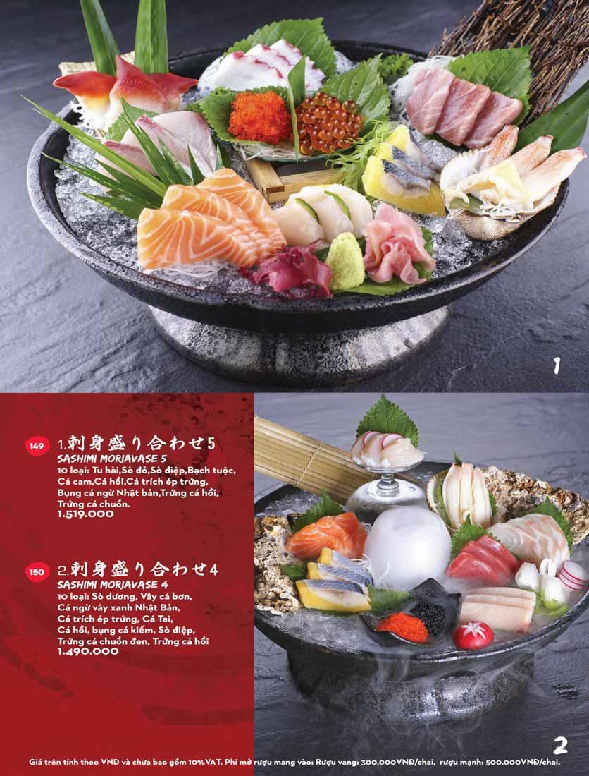 Menu Kisu Sushi – Trần Quốc Toản 23