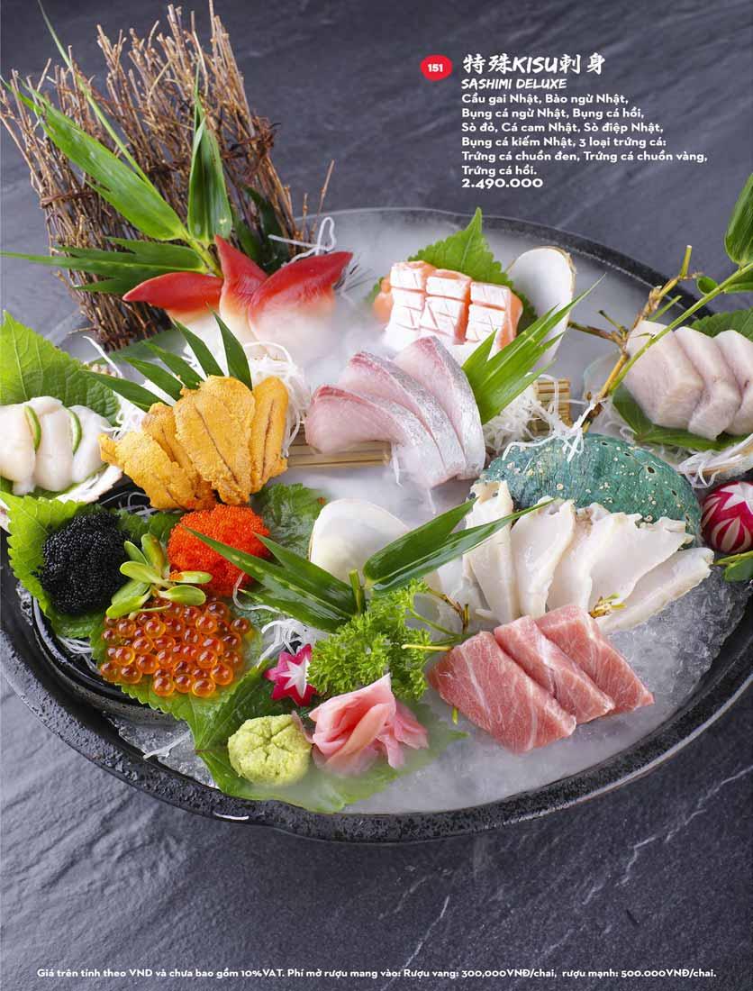 Menu Kisu Sushi – Trần Quốc Toản 24