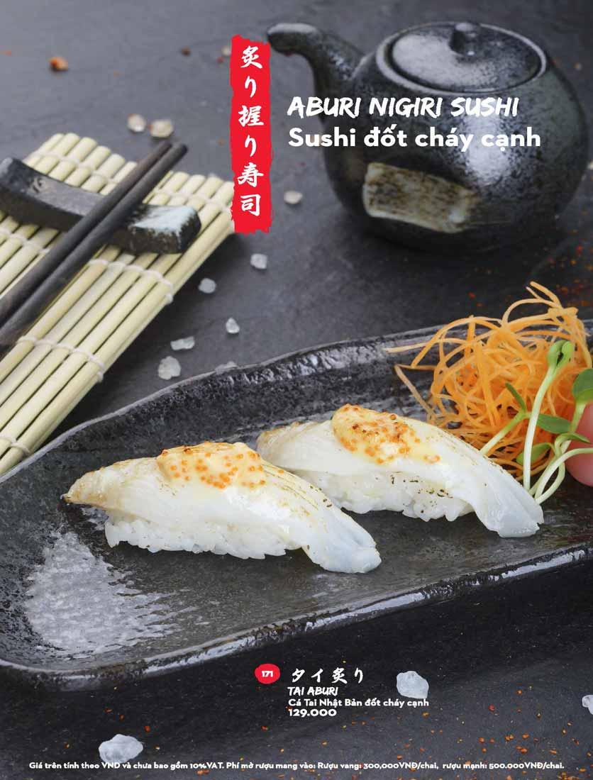 Menu Kisu Sushi – Trần Quốc Toản 29