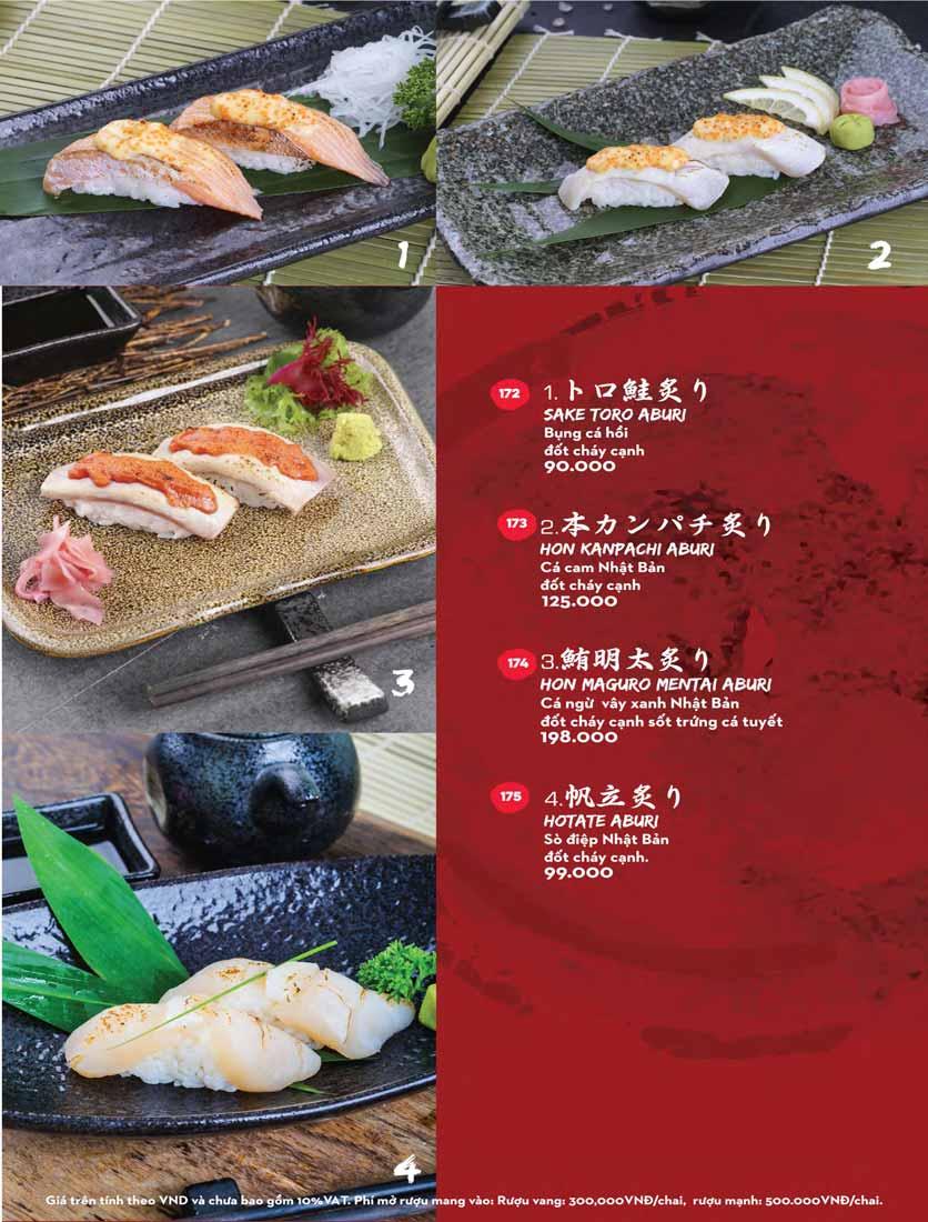 Menu Kisu Sushi – Trần Quốc Toản 30
