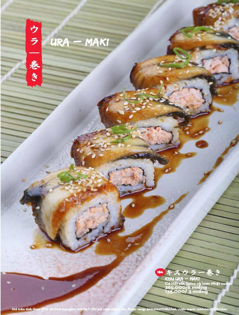 Menu Kisu Sushi – Trần Quốc Toản 33