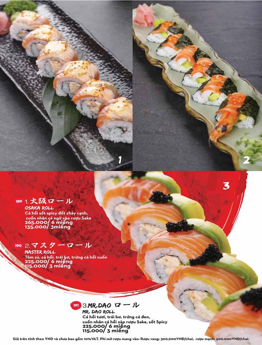 Menu Kisu Sushi – Trần Quốc Toản 35