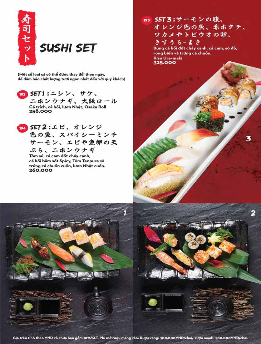 Menu Kisu Sushi – Trần Quốc Toản 37