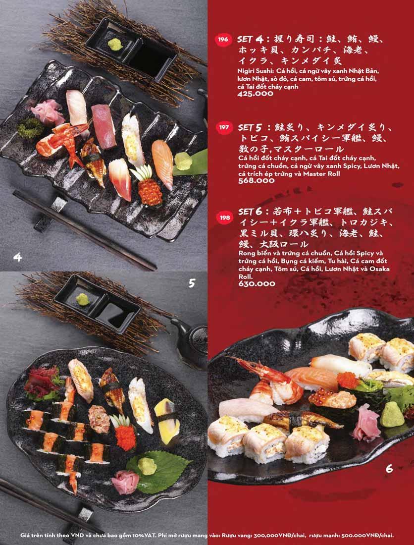 Menu Kisu Sushi – Trần Quốc Toản 38