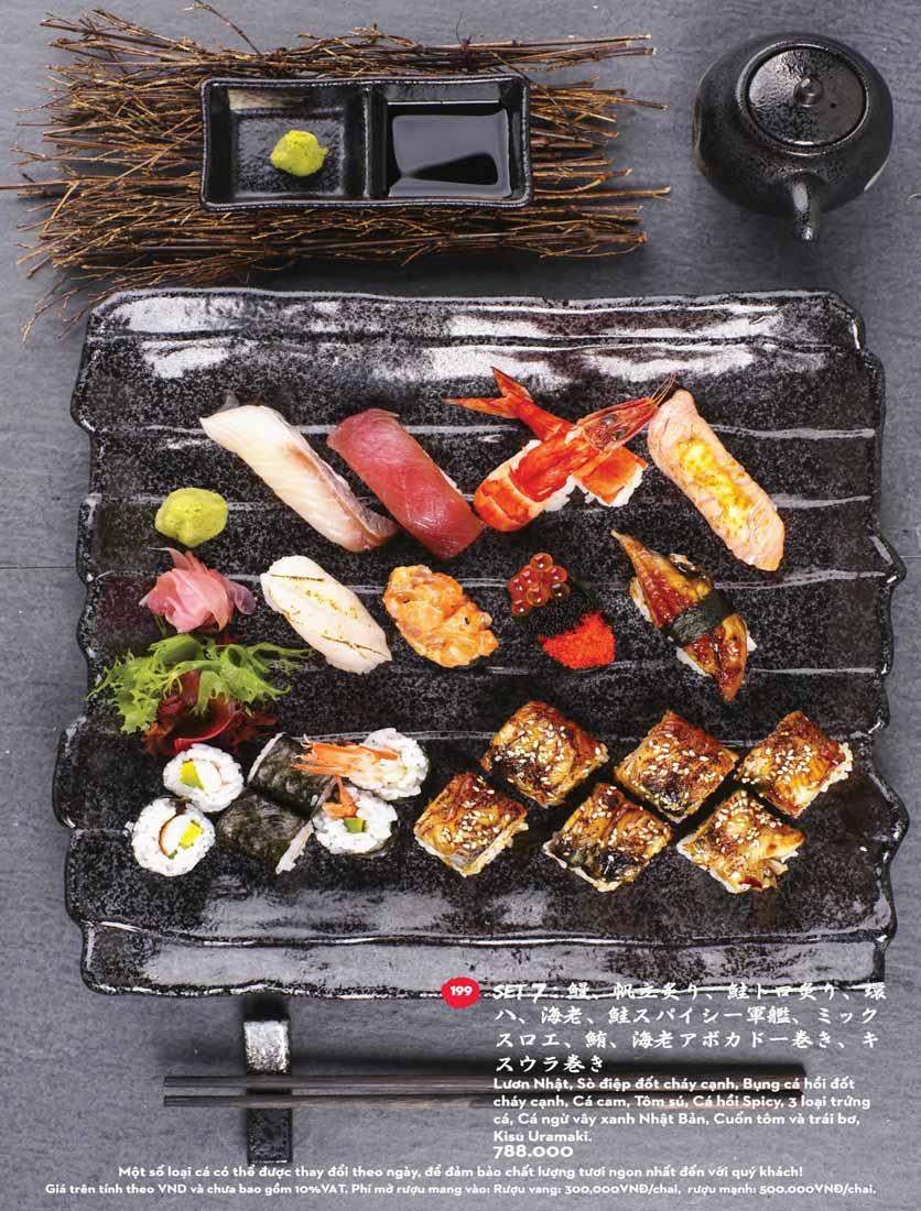Menu Kisu Sushi – Trần Quốc Toản 39