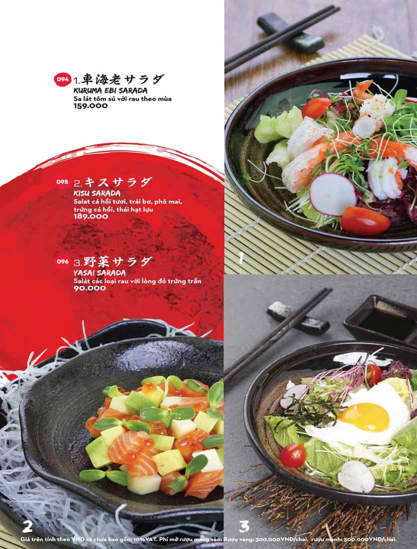 Menu Kisu Sushi – Trần Quốc Toản 4