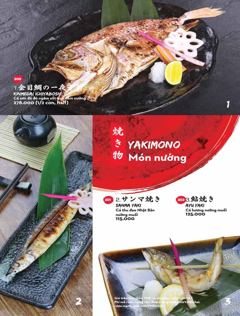 Menu Kisu Sushi – Trần Quốc Toản 40