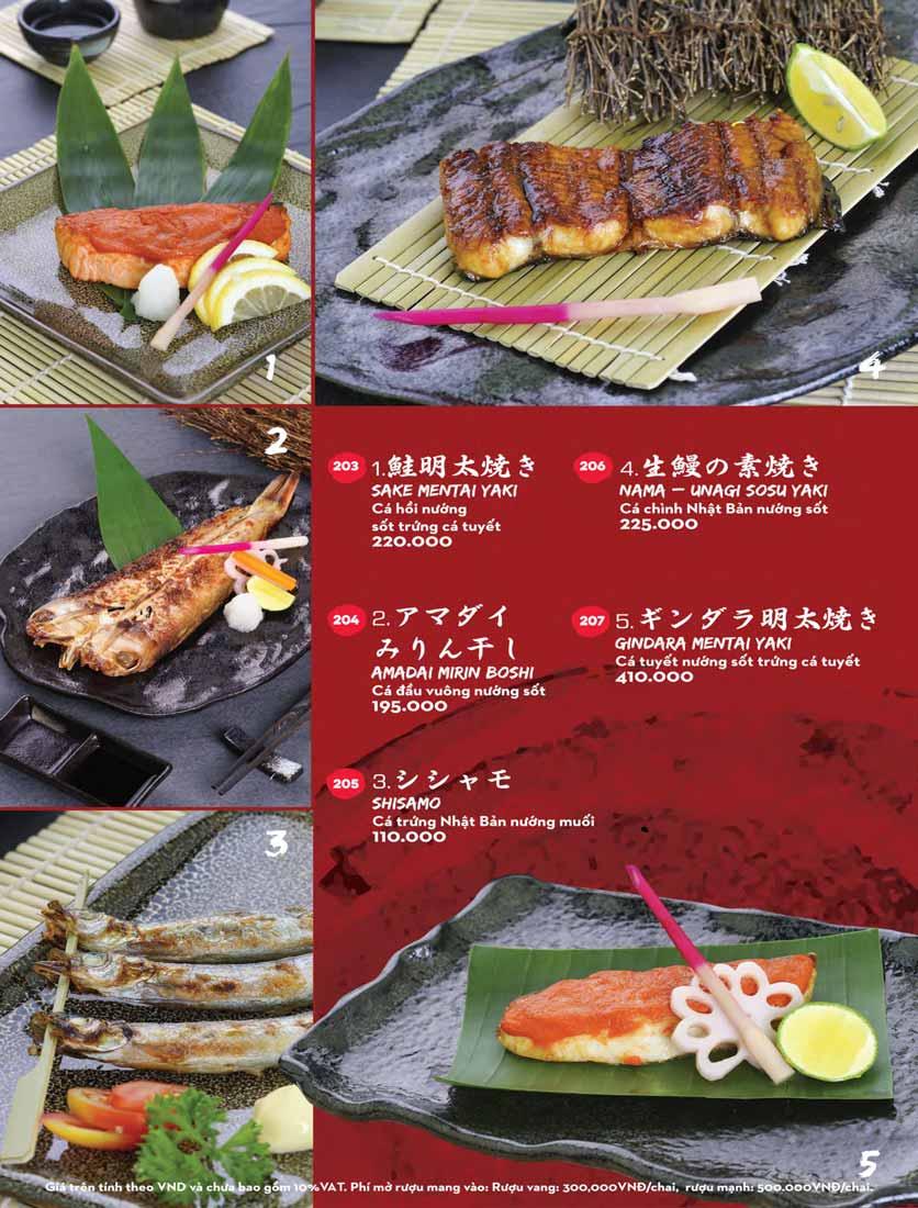 Menu Kisu Sushi – Trần Quốc Toản 41