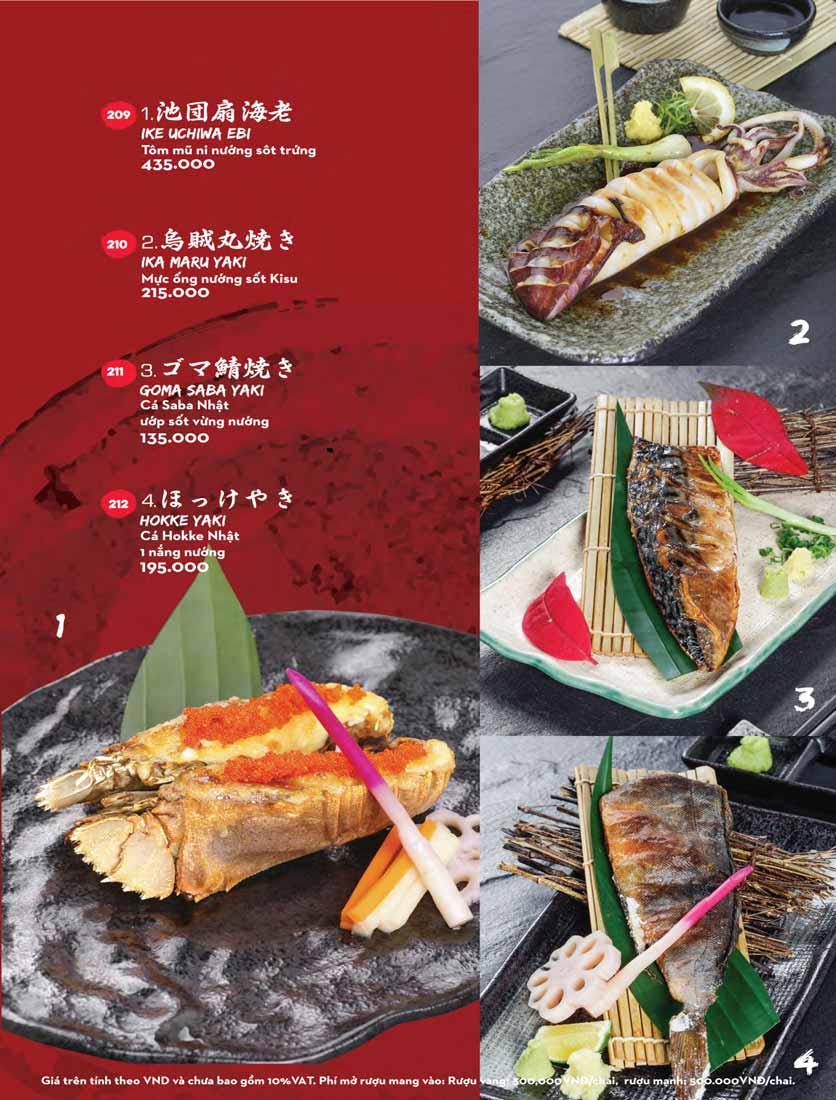 Menu Kisu Sushi – Trần Quốc Toản 43