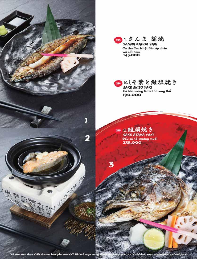 Menu Kisu Sushi – Trần Quốc Toản 44