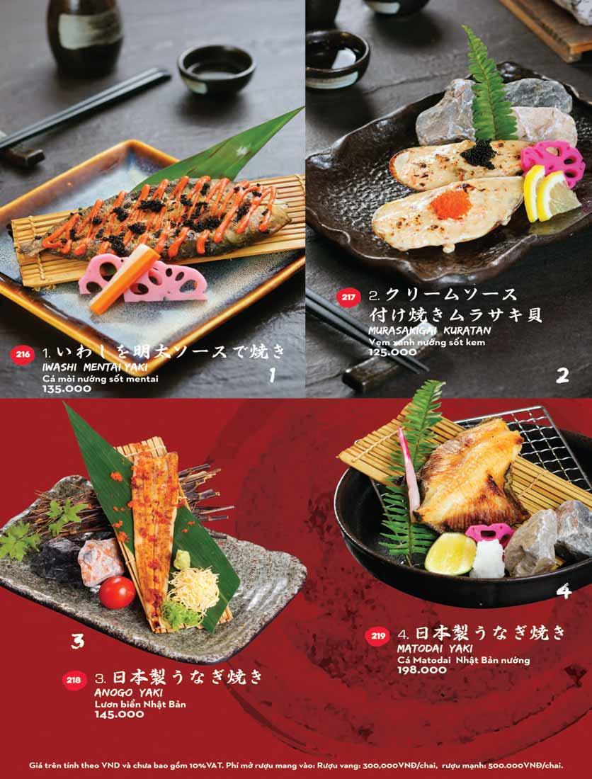 Menu Kisu Sushi – Trần Quốc Toản 45
