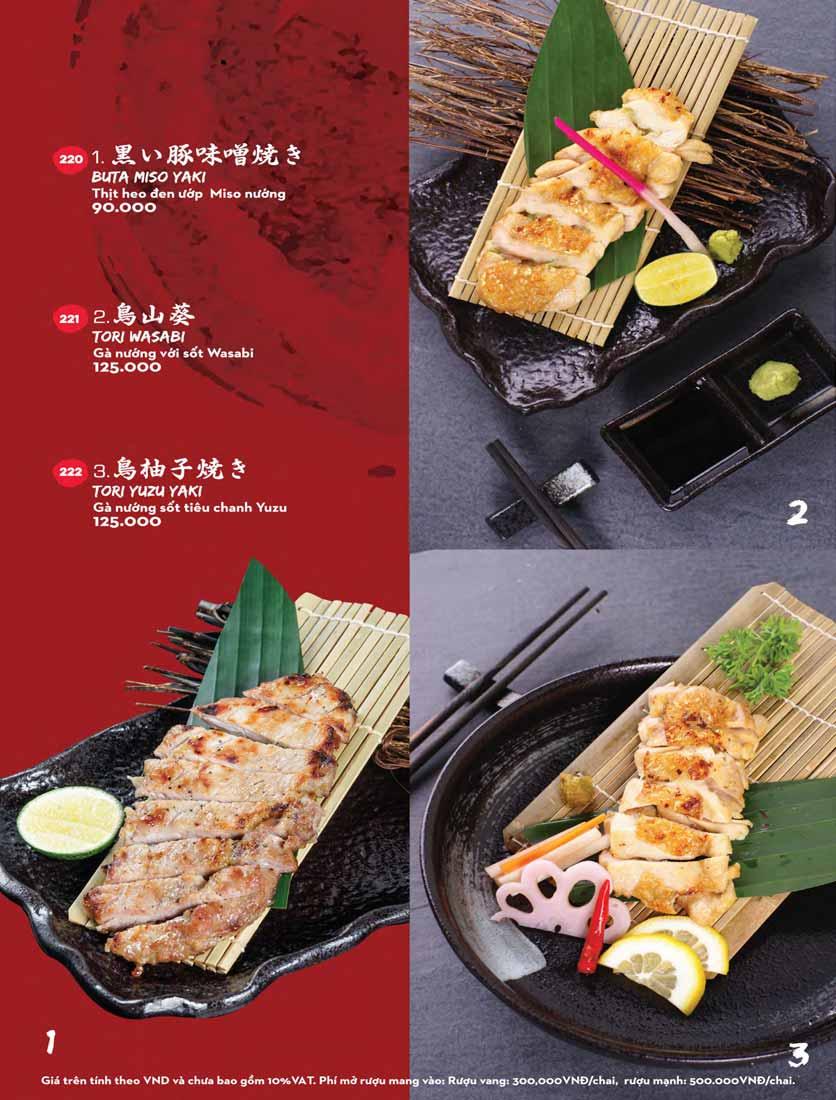Menu Kisu Sushi – Trần Quốc Toản 46