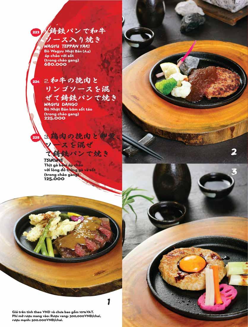 Menu Kisu Sushi – Trần Quốc Toản 47