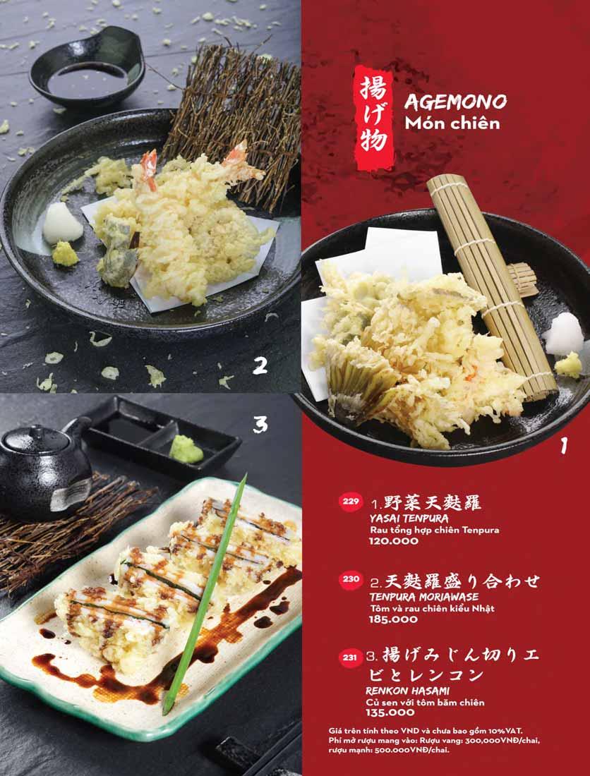 Menu Kisu Sushi – Trần Quốc Toản 49