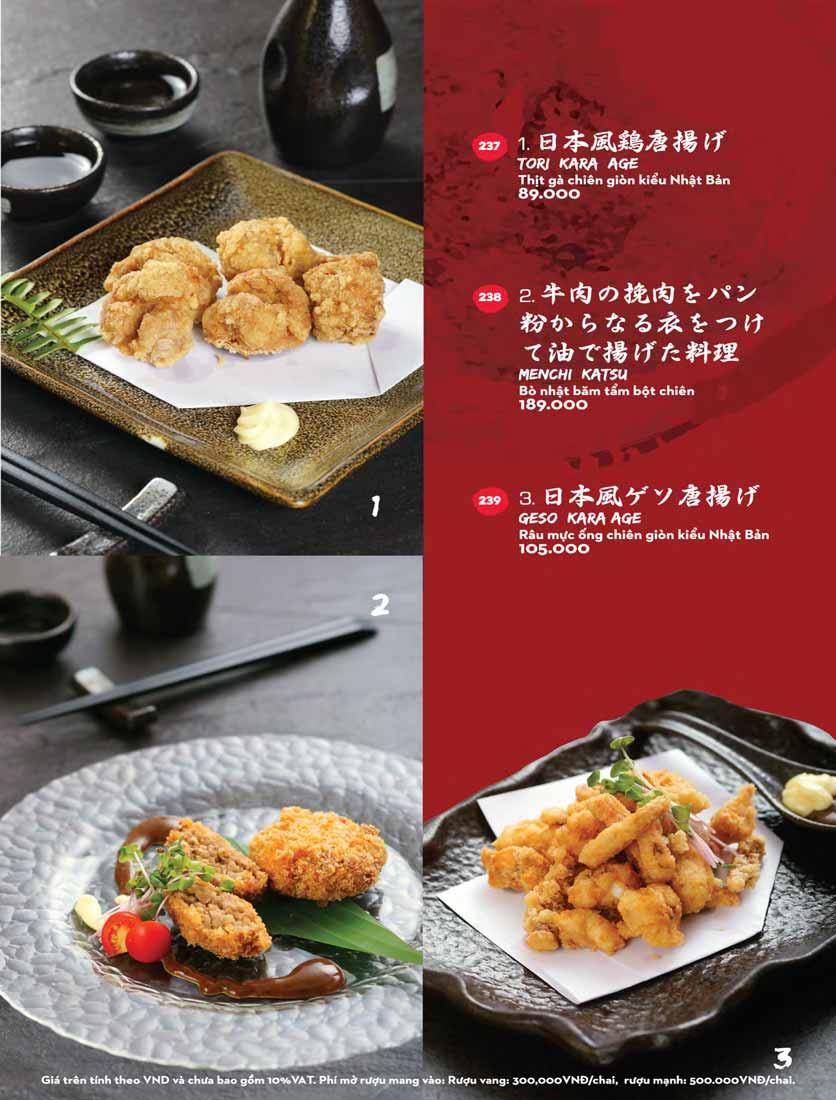 Menu Kisu Sushi – Trần Quốc Toản 53