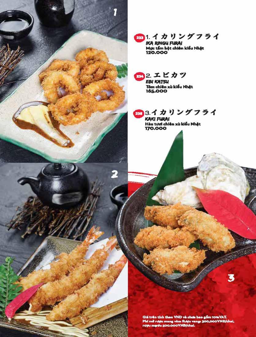 Menu Kisu Sushi – Trần Quốc Toản 59