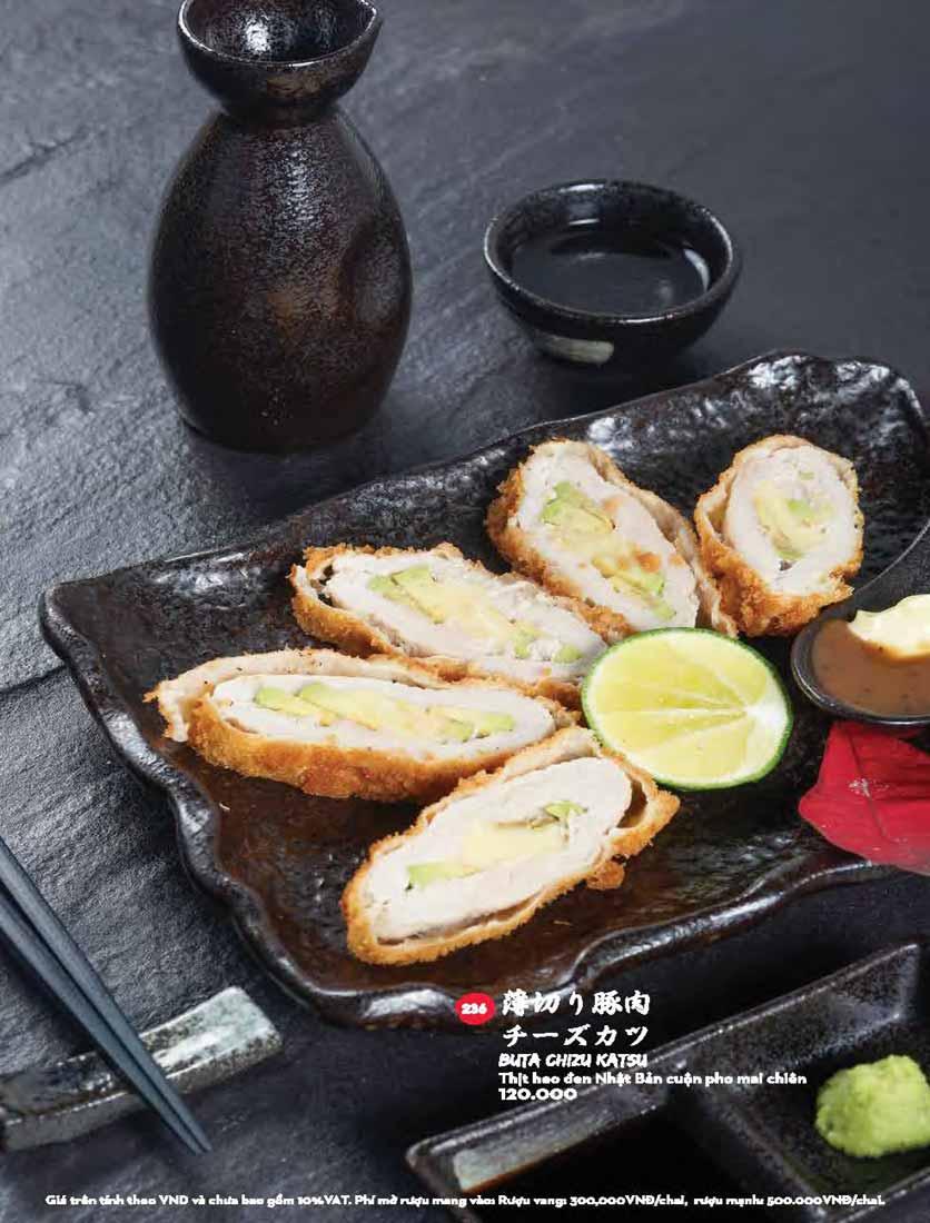 Menu Kisu Sushi – Trần Quốc Toản 60