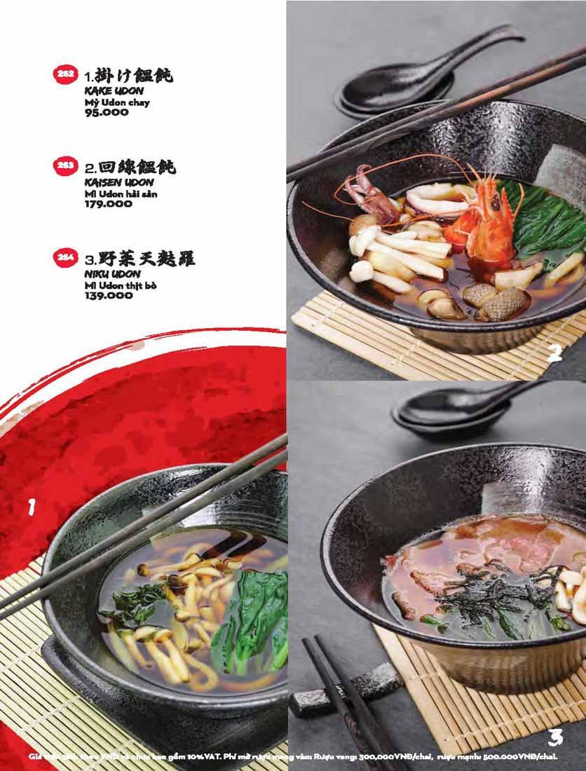 Menu Kisu Sushi – Trần Quốc Toản 66