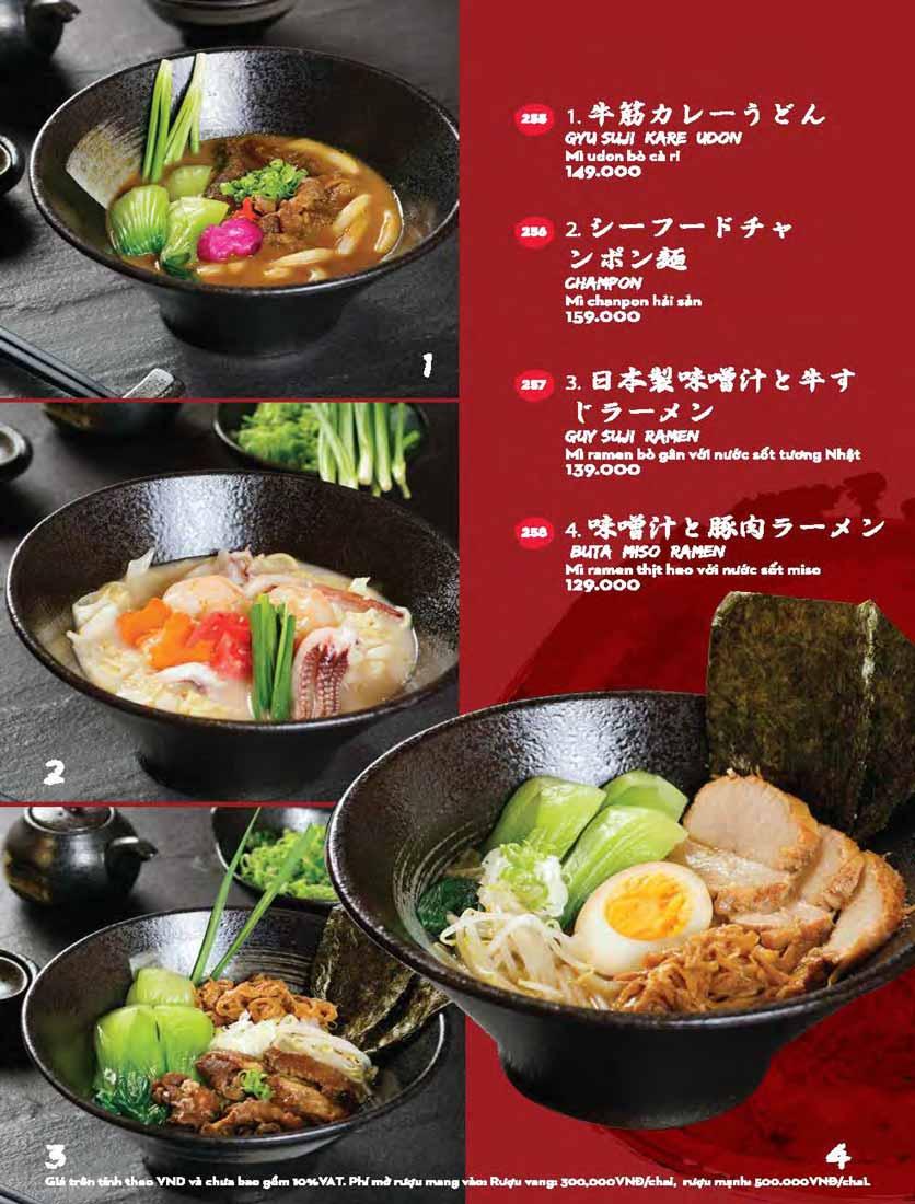 Menu Kisu Sushi – Trần Quốc Toản 67