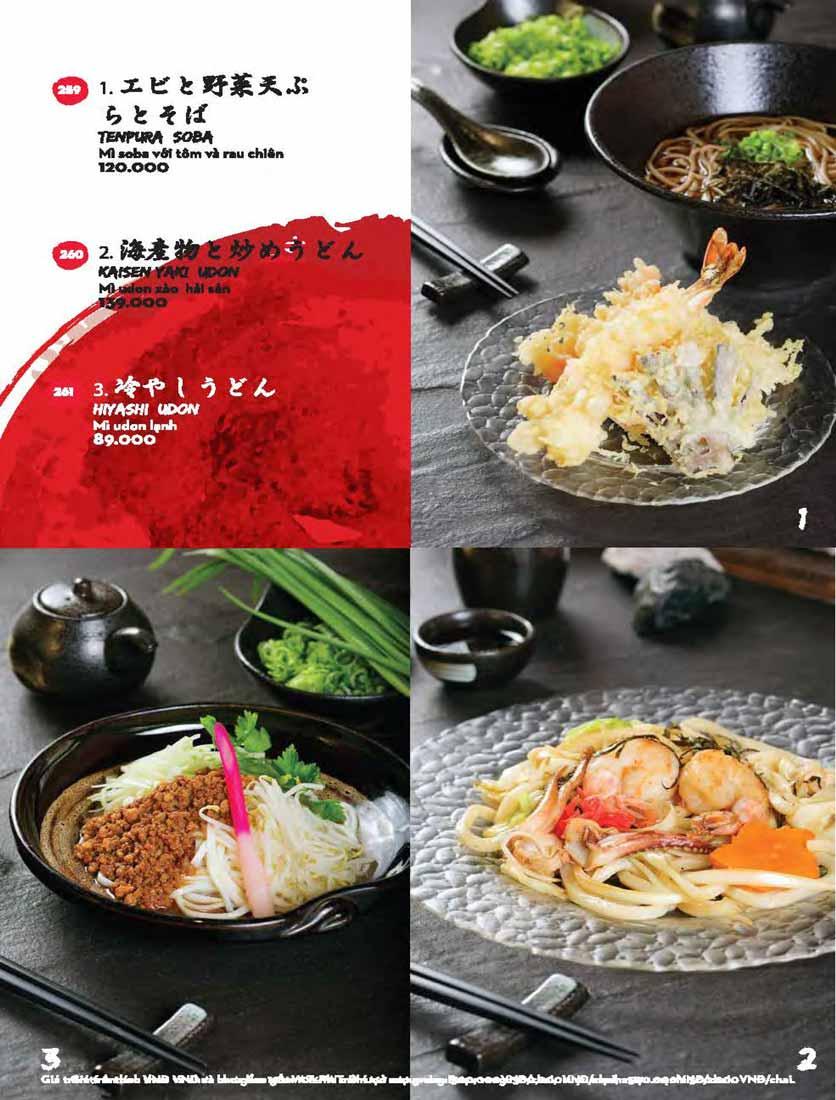 Menu Kisu Sushi – Trần Quốc Toản 68