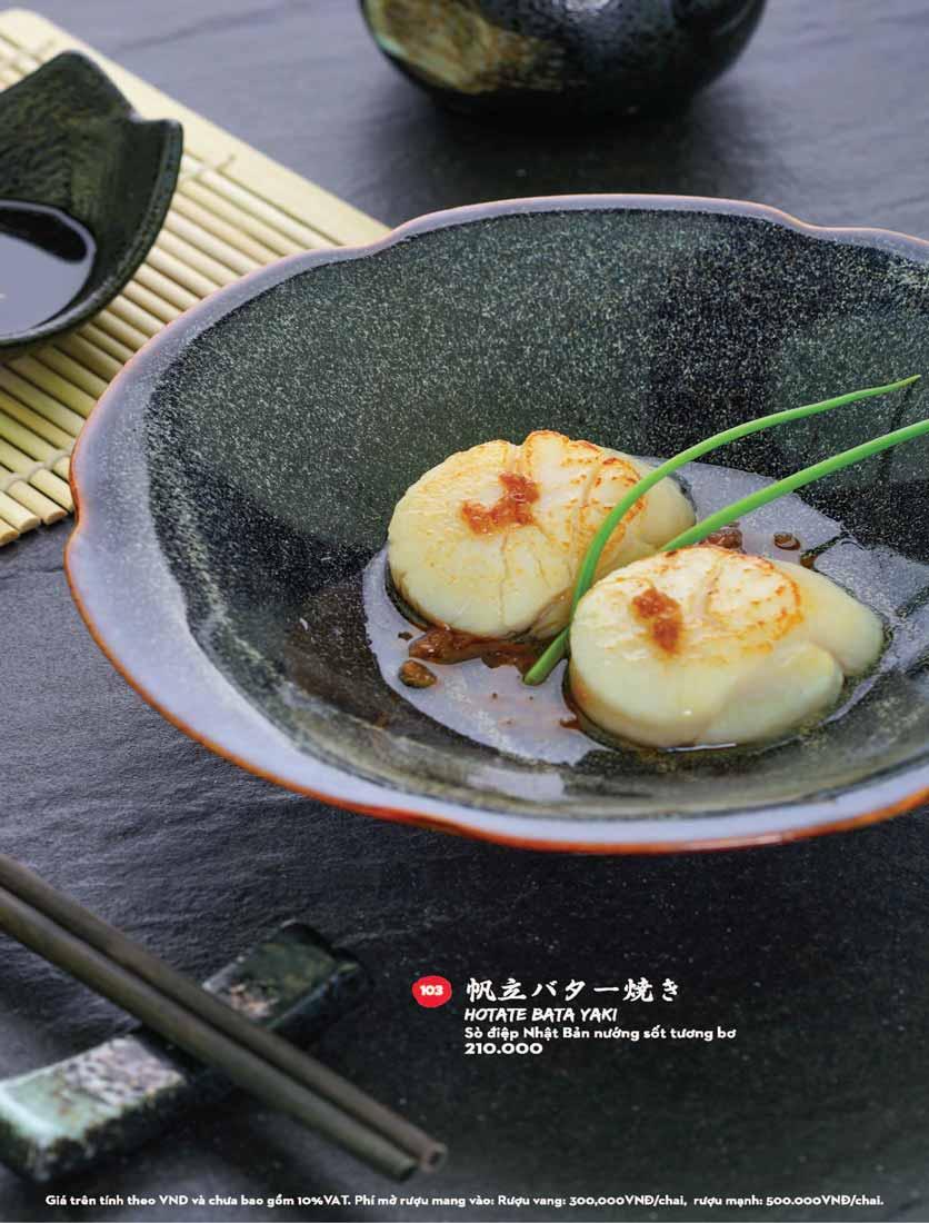 Menu Kisu Sushi – Trần Quốc Toản 7