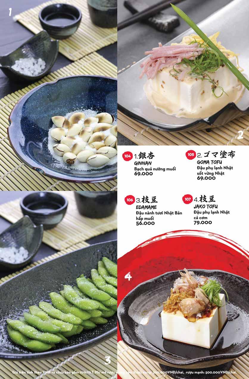 Menu Kisu Sushi – Trần Quốc Toản 8