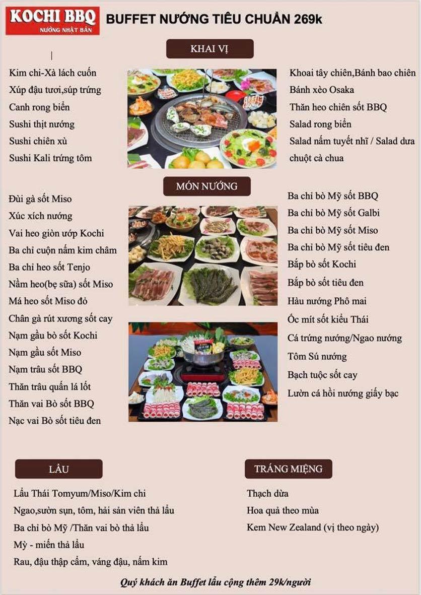 Menu Kochi BBQ - Trần Đại Nghĩa 4