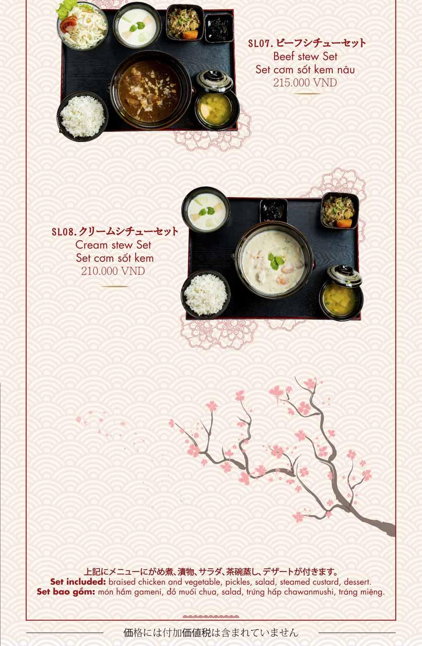 Menu Konne - Triệu Việt Vương 4