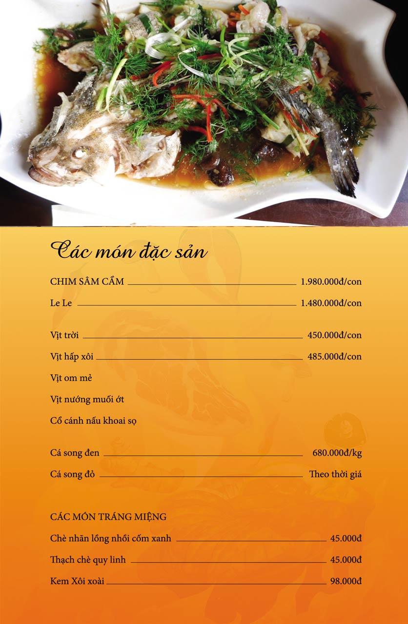 Menu Làng Niêu & Nướng - Trần Văn Lai 4