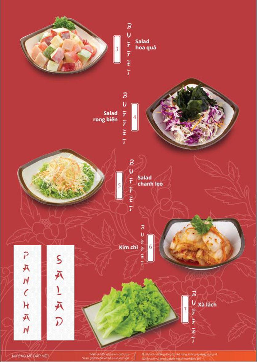 Menu Làu - Buffet Lẩu Nướng - Nguyên Hồng 5