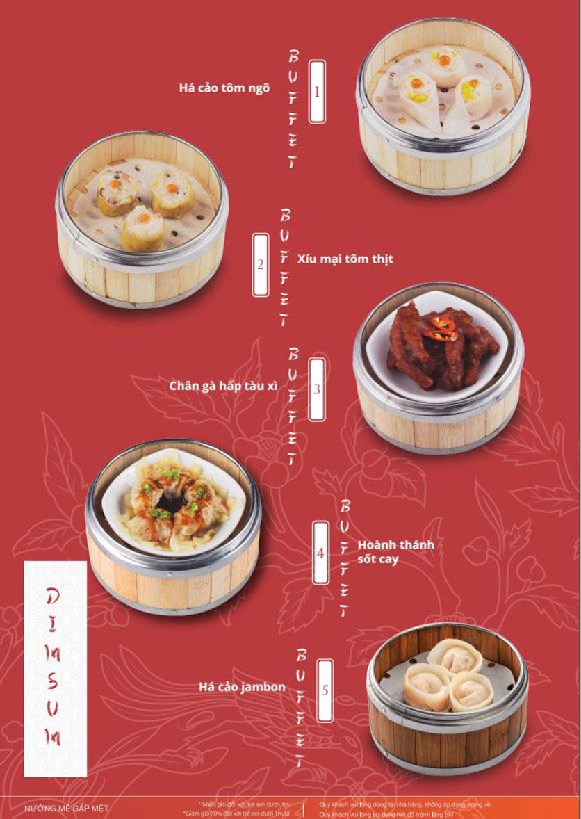 Menu Làu - Buffet Lẩu Nướng - Nguyên Hồng 6
