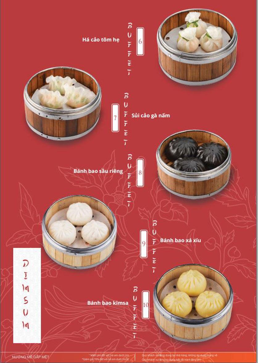Menu Làu - Buffet Lẩu Nướng - Nguyên Hồng 7