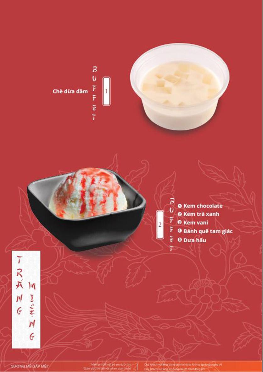 Menu Làu - Buffet Lẩu Nướng - Nguyên Hồng 8