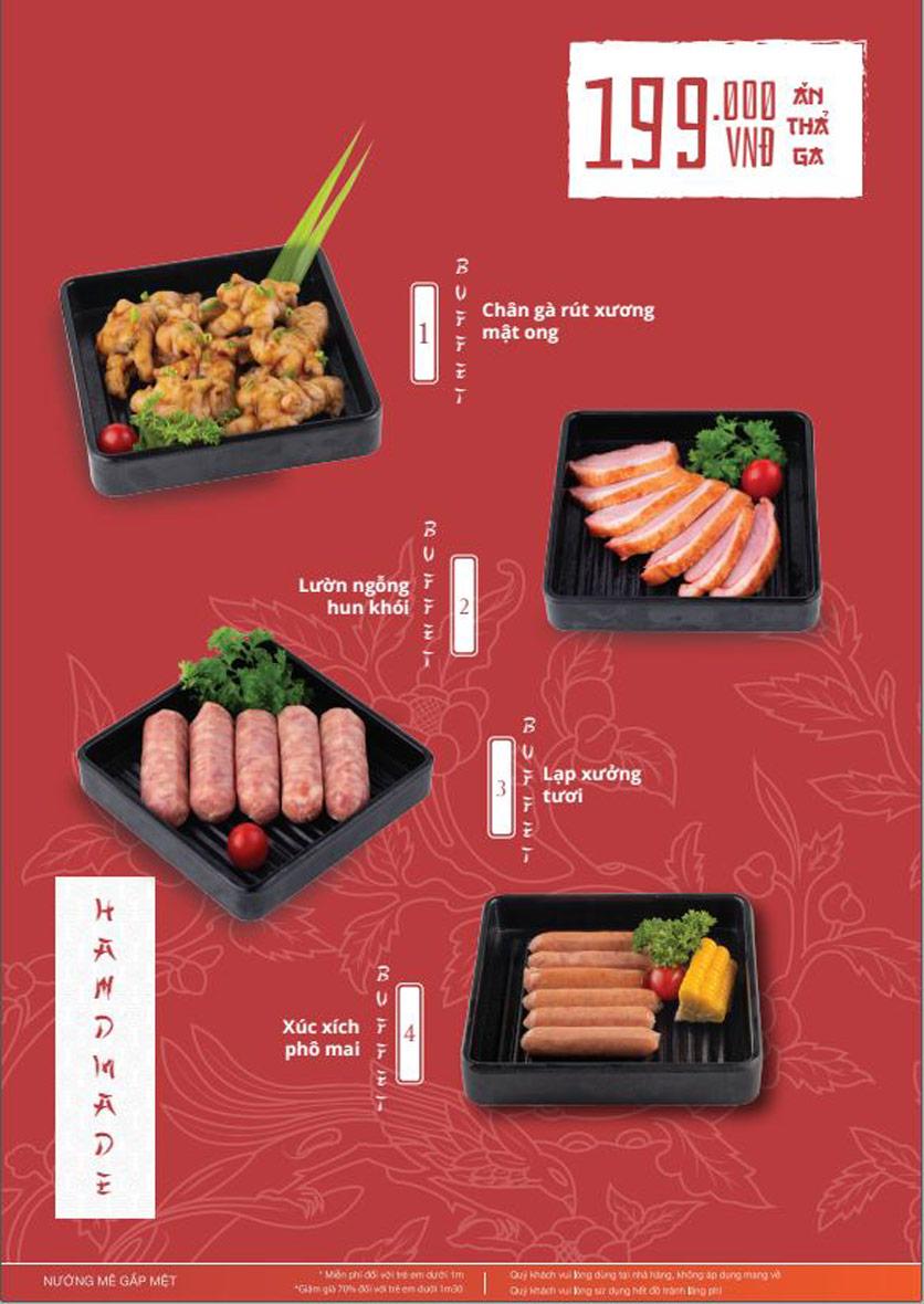 Menu Làu - Buffet Lẩu Nướng - Nguyên Hồng 9